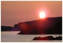 Enlarge photo of Sunset at Scourie